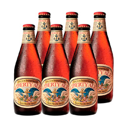 Cerveza Anchor Liberty Ale Botella 355cc x6