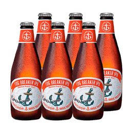 Cerveza Anchor Fog Breaker IPA Botella 355cc x6