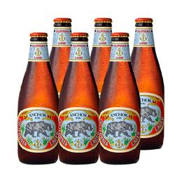 Cerveza Anchor California Lager Botella 355cc x6