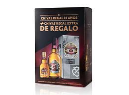 Chivas Regal 12 Años Botella 750cc + Chivas Extra 200cc