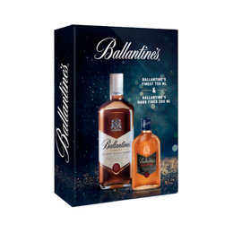 Ballantines Finest Botella 750cc + Ballantines Hard Fire 200cc
