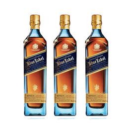 Johnnie Walker Etiqueta Azul Botella 750cc x3