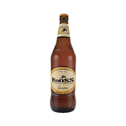 Cerveza Kross Golden Ale Botella 330cc