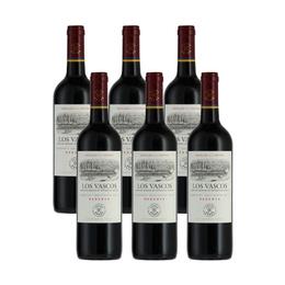 Vino Los Vascos Reserva Cabernet Sauvignon Botella 750cc x6