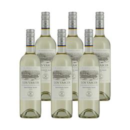 Vino Los Vascos Reserva Sauvignon Blanc Botella 750cc x6