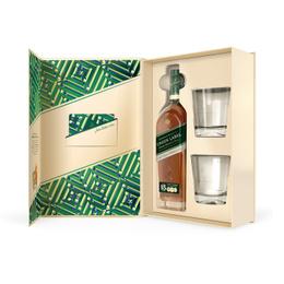 Johnnie Walker Etiqueta Verde Botella 750cc + 2 Vasos