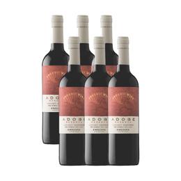 Vino Adobe Cabernet Sauvignon Botella 750cc x6