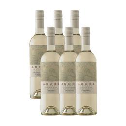 Vino Adobe Sauvignon Blanc Botella 750cc x6