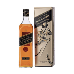 Johnnie Walker Etiqueta Negra Tin Box Botella 750cc