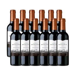 Vino Castillo de Molina Reserva Cabernet Sauvignon Botella 375cc x12