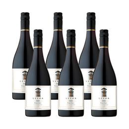 Vino Leyda Reserva Pinot Noir Botella 750cc x6
