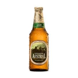 Cerveza Austral Lager Botella 330cc