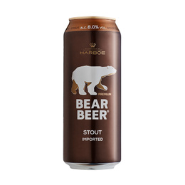 Bear Beer Stout Lata 500cc