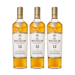 Whisky The Macallan Triple Cask 12 Años Botella 700cc x3