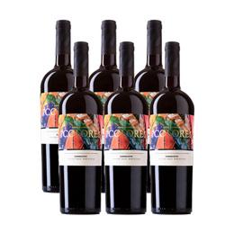 Vino 7 Colores Gran Reserva Carmenere Botella 750cc x6