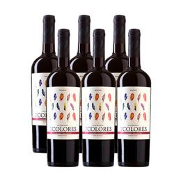 Vino 7 Colores Reserva Cabernet Sauvignon Botella 750cc x6