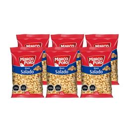 Marco Polo Maní Salado 430 grs x6