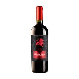 Vino Bestia Roja Gran Reserva Carmenere Botella 750cc