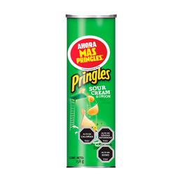 Pringles Papas Fritas Sour Cream & Cebolla 158 grs