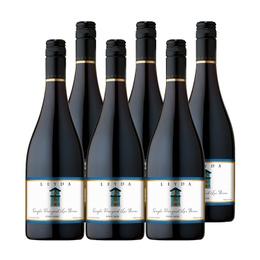 Vino Leyda Single Vineyard Las Brisas Pinot Noir Botella 750cc x6