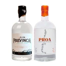 Gin Provincia + Proa Botella 750cc