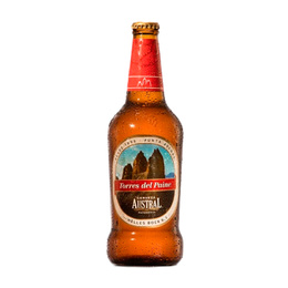 Cerveza Austral Torres del Paine Helles Bock Botella 330cc