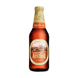 Cerveza Austral Patagona Pale Ale Botella 330cc