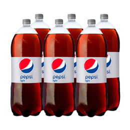 Pepsi Light Botella 3Lts x6