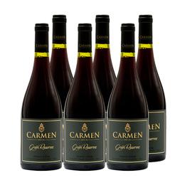 Vino Carmen Gran Reserva Pinot Noir Botella 750cc x6