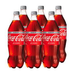 Coca Cola Light Botella 1,5Lts x6