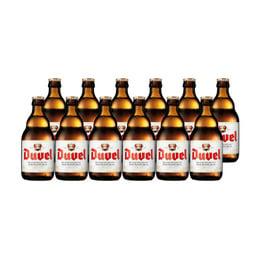 Cerveza Duvel Botella 330cc x12
