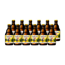 Cerveza La Chouffe Botella 330cc x12