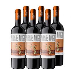 Vino Piernas Largas Reserva Syrah Botella 750cc x6