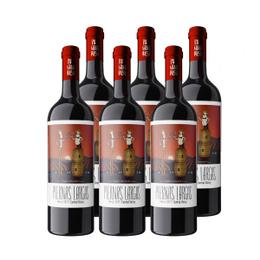 Vino Piernas Largas Single Vineyard Merlot Botella 750cc x6