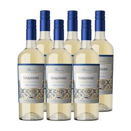 Vino Terranoble Reserva Sauvignon Blanc Botella 750cc x6