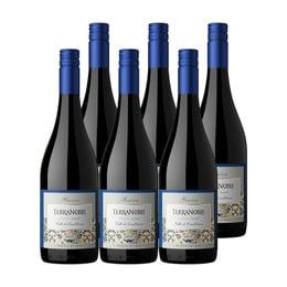 Vino Terranoble Reserva Pinot Noir Botella 750cc x6