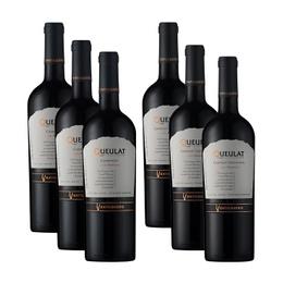 Vino Ventisquero Gran Reserva 3 Carmenere + 3 Cabernet Sauvignon Botella 750cc