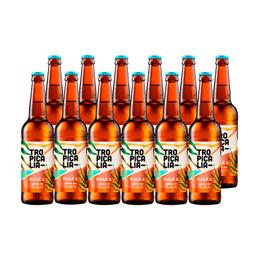 Cerveza Nalka Tropicalia Session IPA Botella 330cc x12