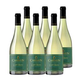 Vino Carmen Gran Reserva Sauvignon Blanc Botella 750cc x6
