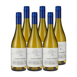 Vino Casas del Bosque Reserva Chardonnay Botella 750cc x6