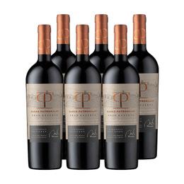 Vino Casas Patronales Gran Reserva Cabernet Sauvignon Botella 750cc x6