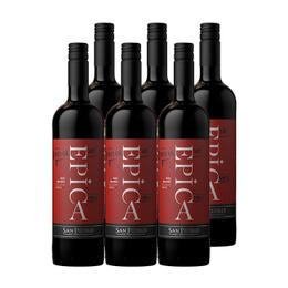 Epica Reserva Red Blend Botella 750cc x6