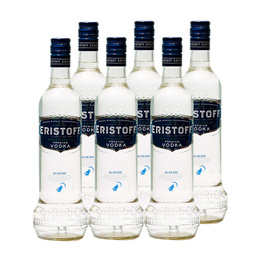 Vodka Eristoff Botella 700cc x6