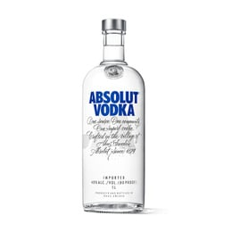 Absolut Blue Botella 1Lt