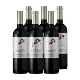 Vino Calcu Reserva Cabernet Franc Botella 750cc x6