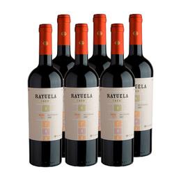 Vino Viu Manent Rayuela Reserva Malbec Botella 750cc x6