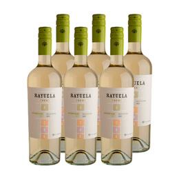 Vino Viu Manent Rayuela Reserva Sauvignon Blanc Botella 750cc x6