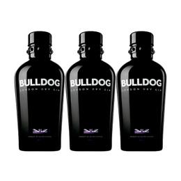 Gin Bulldog 40° Botella 750cc x3