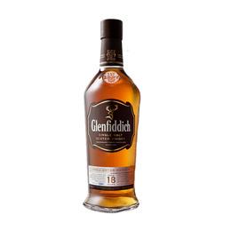 Whisky GlenfiddichSingle Malt 18 Años Botella 750cc