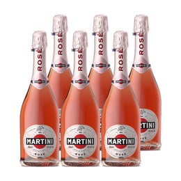 Martini Rose Botella 750cc x6